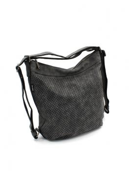 Bolso de hombro de mujer convertible en mochila