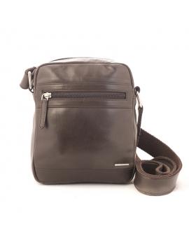Bolso bandolera Elegant marrón
